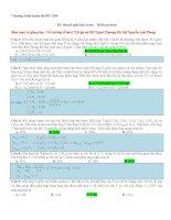Tài liệu ôn tập hoá học lớp 12 theo chuyên đề (4)
