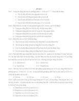 6 đề thi thử tốt nghiệp THPT môn vật lý