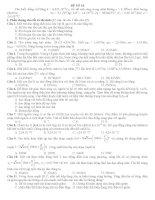 15 ĐỀ ÔN THI Tốt Ngiệp Trung Học Phổ Thông môn vật lý ĐỀ SỐ 10