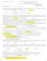 Đề thi KS THPT QUỐC GIA (02) tháng 6 năm 2015 môn vật lý