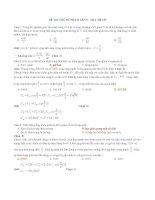 25 đề sưu tầm thi thử THPT Quốc gia môn vật lý (cớ lời giải chi tiết năm 2014) (11)