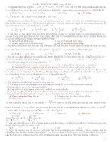 ÔN THI THPT QUỐC GIA_ĐỀ SỐ 2 (GIẢI CHI TIẾT) môn vật lý