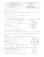 25 đề sưu tầm thi thử THPT Quốc gia môn vật lý (cớ lời giải chi tiết năm 2014) (3)