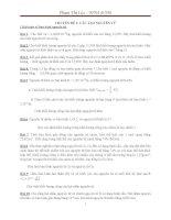 CHUYÊN đề 1: Cấu tạo nguyên tử bảng tuần hoàn( dạy thêm hoặc chuyên đề)