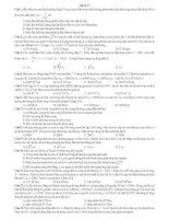 ĐỀ THI THỬ SỐ 7 - CÓ LỜI GIẢI CHI TIẾT môn vật lý