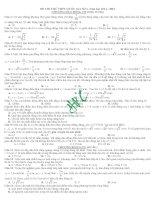 TỔNG HỢP 5 ĐỀ THI THỬ THPT QUỐC GIA NĂM 2015 CÓ GIẢI CHI TIẾT ĐẦY ĐỦ môn vật lý (1)