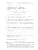 đề toán thi thử THPT QG năm 2015 đề số 170