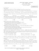 25 đề sưu tầm thi thử THPT Quốc gia môn vật lý (cớ lời giải chi tiết năm 2014) (6)