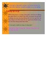 Giáo án Hướng nghiệp 9 - Chủ đề 6: Tìm hiểu năng lực bản thân và truyền thống nghề nghiệp của gia đình