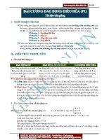Đại cương Dao động điều hòa (Phần 1) (2)