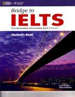 Bridge to IELTS Pre-intermediate - Intermediate Band 3.5 to 4.5 Student''s Book