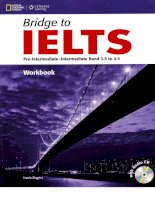Bridge to IELTS Pre-intermediate - Intermediate Band 3.5 to 4.5 Workbook
