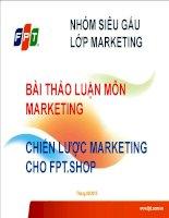 Chiến Lược Marketing Của FPT Shop
