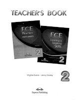 Key of FCE Practice Exam Papers 2 (đáp án dạng đề thi FCE tập 2) (1)