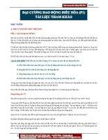 Đại cương Dao động điều hòa (Phần 1) (4)