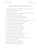 Bài tập mệnh đề quan hệ trong Tiếng Anh THCS Lê Ngọc Hân