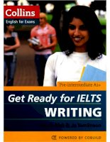 Get Ready for IELTS Writing Pre-Intermediate A2 RED