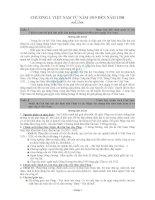 70 Câu hỏi ôn tập môn Lịch sử (có đáp án)