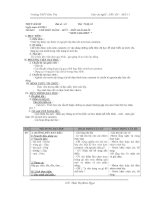 Giáo án Nghề 11 - Hồ Thị Thanh Hà - Tiết 79-84 - Giáo Án Điện Tử