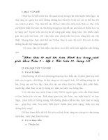 SKKN Khai thác từ một bài toán Hình học 9 (bài tập 30 SGK toán 9, tập 1)