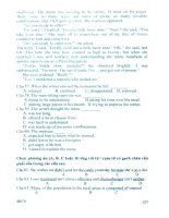 Bộ Đề Thi Trắc Nghiệm Khách Quan Tiếng Anh (P3