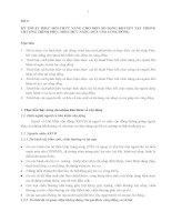 BÀI 4 KỸ THUẬT PHỤC HỒI CHỨC NĂNG CHO MỘT SỐ DẠNG KHUYẾT TẬT TRONG CHƯƠNG TRÌNH PHỤC HỒI CHỨC NĂNG DỰA VÀO CỘNG ĐỒNG