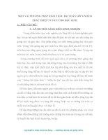 SKKN MỘT VÀI PHƯƠNG PHÁP KHAI THÁC BÀI TOÁN LỚP 6 NHẰM PHÁP TRIỂN TƯ DUY CHO HỌC SINH.
