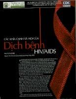 CÁC KHÍA CẢNH XÃ HỘI CỦA DỊCH BỆNH HIV-AIDS, DẠI HỌC Y TẾ CÔNG CỘNG