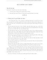 BÀI 2 HÀNH VI SỨC KHỎE, ĐAI CƯƠNG GIÁO DỤC SỨC KHỎE VÀ NÂNG CAO SỨC KHỎE