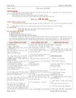 Giáo án ngữ văn 8 học kì I rất chi tiết(3cột)