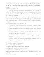 SKKN  SÁNG KIẾN KINH NGHIỆM KỸ NĂNG VẬN DỤNG CÁC TÍNH CHẤT CƠ BẢNCỦA PHÉP CỘNG VÀ PHÉP NHÂN TRONG CHƯƠNG TRÌNH TOÁN 6