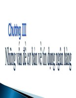 Bài giảng Nghiệp vụ Ngân hàng thương mại Chương 3 - Hoàng Hải Yến