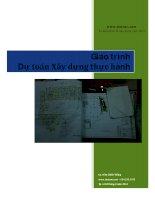 Giáo trình Dự toán xây dựng thực hành - Ks. Trần Chiến Thắng