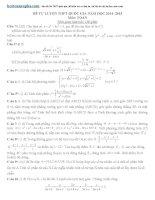 25 Đề thi thử thptqg môn toán 2015