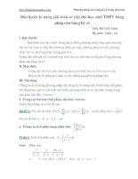 Chuyên đề. Phương pháp cân bằng hệ số trong giải các bài toán đại số