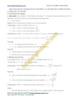 Căn bậc hai của số phức và giải phương trình trên tập số phức