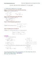 Vấn đề 6. Hệ phương trình mũ và logarit lớp 1