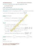 Bài toán khoảng cách và góc liên quan đến phương trình đường thẳng trong không gian