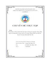 Hoàn thiện và đẩy nhanh tiến độ công tác đăng ký cấp giấy chứng nhận quyền sử dụng đất và nhà ở đối với cá nhân, hộ gia đình trên địa bàn huyện Từ Liêm thành phố Hà Nội