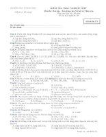 tổng hợp đề thi trắc nghiệm hóa 12 THPT