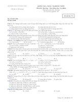 tổng hợp đề thi trắc nghiệm hóa 12
