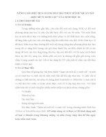 SKKN NÂNG CAO HIỆU QUẢ GIẢNG DẠY BÀI THỰC HÀNH QUAN SÁT MỘT SỐ VI SINH VẬT CỦA SINH HỌC 10