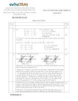 Đáp án Đề đề xuất thi học sinh giỏi lớp 10 Duyên Hải môn Hóa Học tỉnh Phú Thọ năm học 20142015