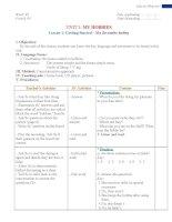 GIáo án thí điểm môn tiếng anh lớp 7 tham khảo (1)