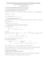 Bộ đề và đáp án đề thi học sinh giỏi môn vật lý lớp 9