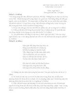 Đê văn ôn thi vào lớp 10 tham khảo ôn thi (5)