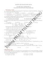 20 câu hỏi về tính chất hóa học chung của kim loại