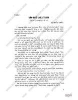 Giải bài tập ngữ văn 11 cơ bản (tập 1)