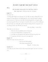 Tuyển tập đề thi Ngữ văn 8