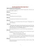Tuyển tập đề thi Học sinh giỏi Ngữ Văn 7